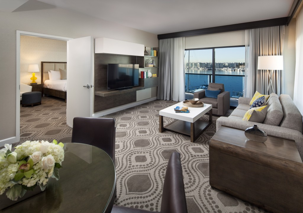 lodging in marina del rey