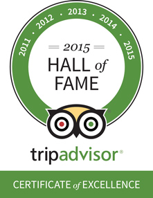 tripadvisor hall of fame awards